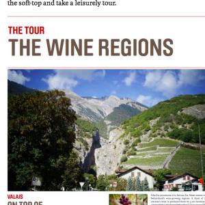 Swiss wine press material